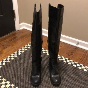Olivia Miller Over the Knee Boots, Size 7.5